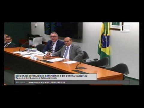 RELAÇÕES EXTERIORES E DE DEFESA NACIONAL - Reunião Deliberativa - 25/04/2018 - 11:50