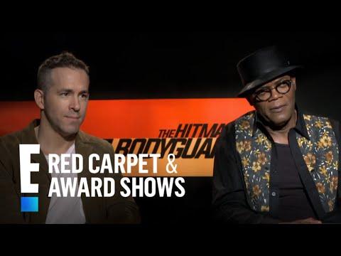 Ryan Reynolds & Samuel L. Jackson Play 'Hitman or Bodyguard' Game | E! Live from the Red Carpet