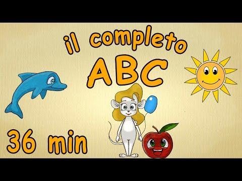 ABC canzone per bambini - 36 minuti - il completo ABC