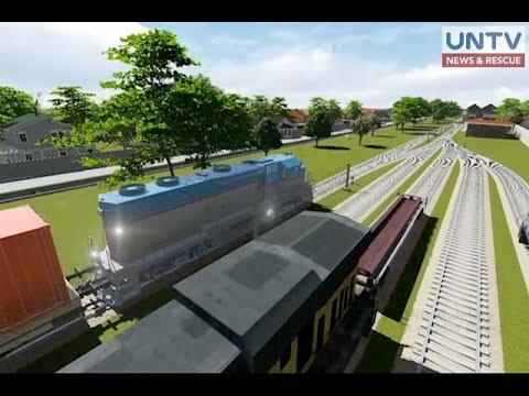 Freight train service sa Manila Port area, planong buhayin