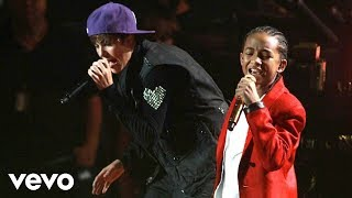 Justin Bieber - Never Say Never ft. Jaden Smith (Live) thumbnail