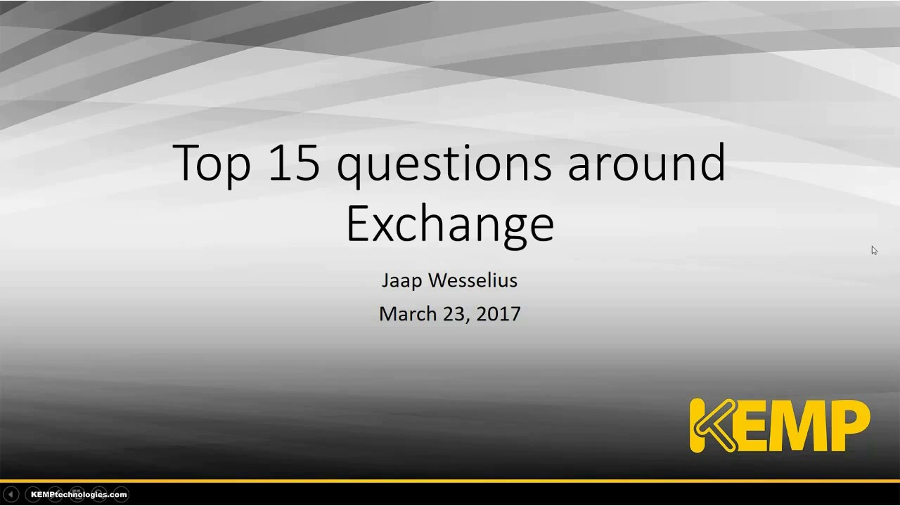 Server pdf questions 2010 and exchange interview answers