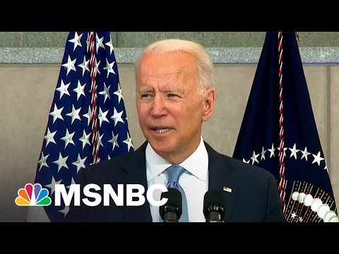 "President Biden Calls Out Trump's ""Big Lie"""