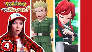 ❤️LT.SURGE AND LORELIE OF THE ELITE FOUR?!❤️ Pokemon Let