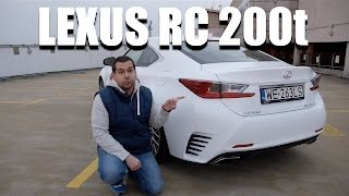 Lexus RC 200t (ENG) - Test Drive and Review