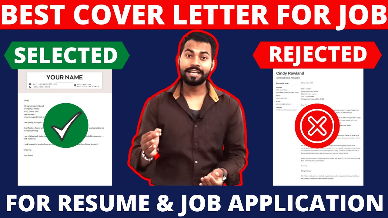 Cover Letter For Job Application Resume Download Free Cover Letters Youtube