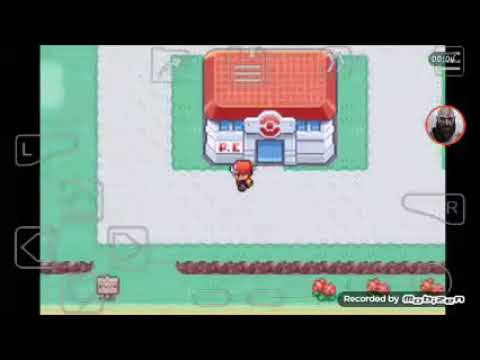 I bet the boss of team rocket, the last gym leader and he is Giovanni | Pokemon FireRed Version