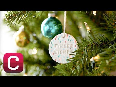 Make Paper Clay Christmas Ornaments with Courtney Cerruti   Creativebug
