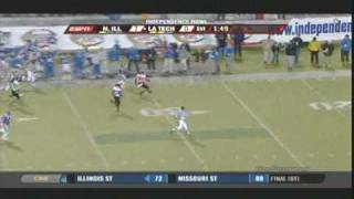 Phillip Livas 97 Yard Kickoff Return for a Touchdown