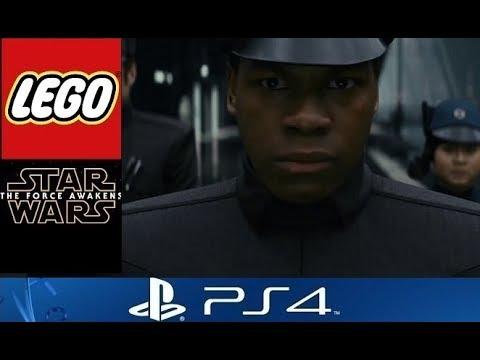 LEGO Star Wars The Force Awakens - Finn Custom Character (The Last Jedi)