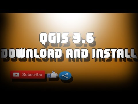 Download and Install the NEW QGIS 3.6