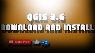 Gambar cover Download and Install the NEW QGIS 3.6