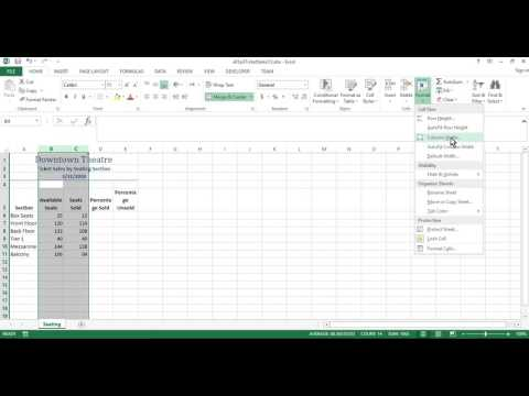 Camden County College - Excel Assignment One
