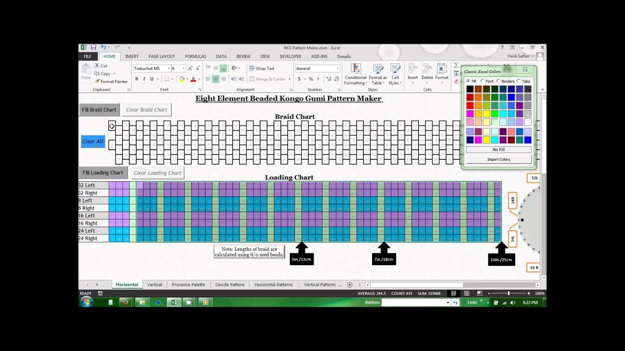 Bead Pattern Software Unique Decorating Ideas