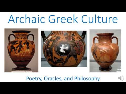 Archaic Greek Culture, 800-480 BCE