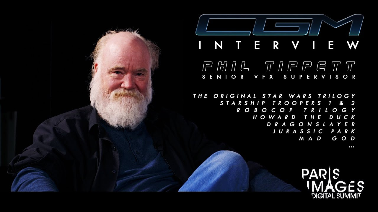 CGM Interviews - Phil Tippett (Jurassic Park, RoboCop, Starship Troopers, Mad God…)