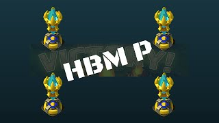 Castle Clash - HBM P with a TH 14