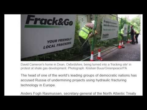 Is Russia behind Anti-fracking movement ???