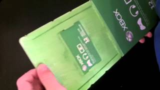 Xbox Live 12 Month Gold Membership: Unboxing