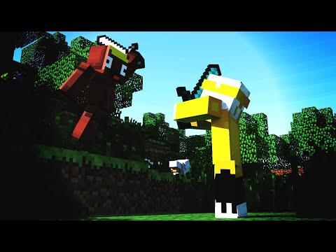 RoofShingles Vs. BrokenHeadphone - Funny Minecraft PvP/Gameplay