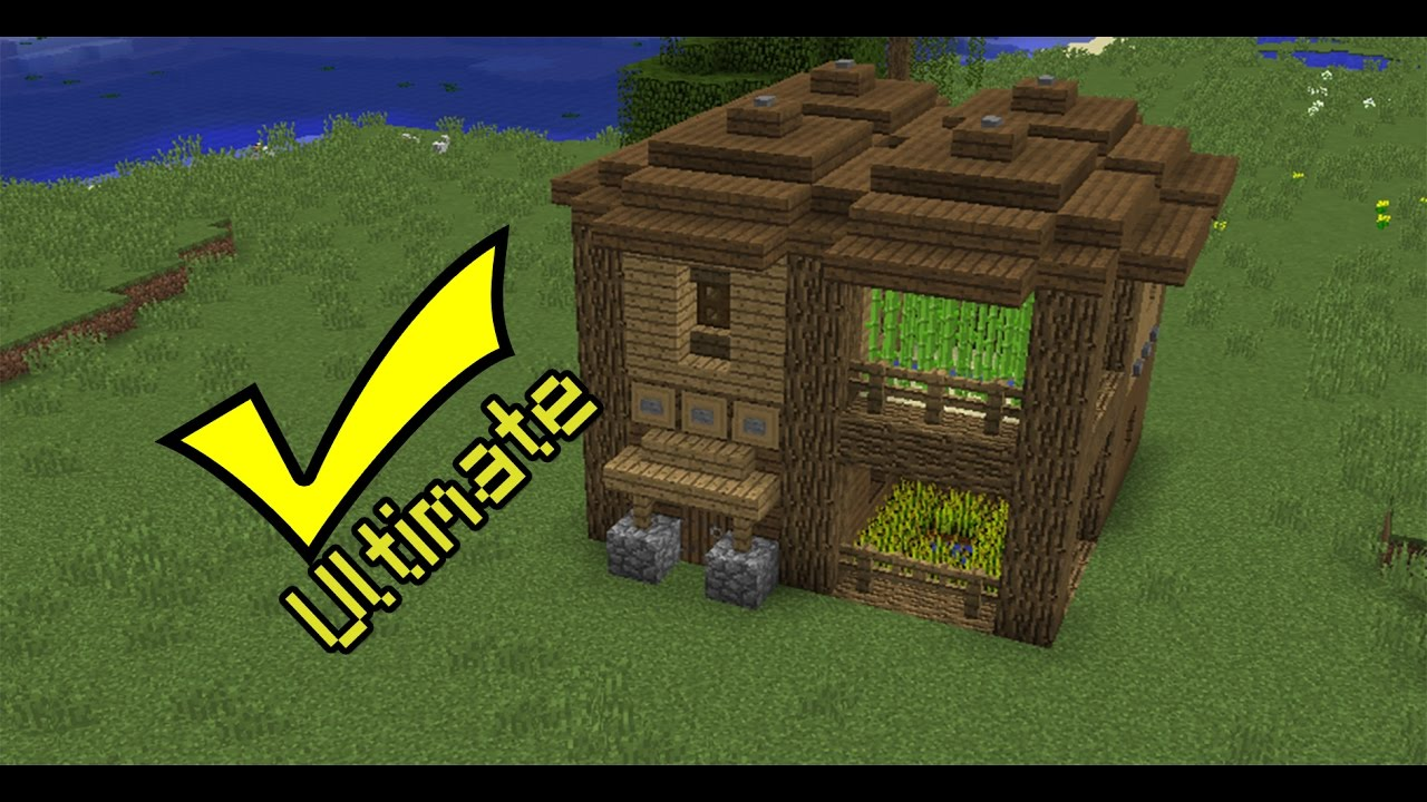 Minecraft  How To Build The Ultimate Survival House