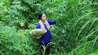 Nộm rau sắn, nộm núc nác I Đặc sản quê nhà ( Cassava Leaves Salad, Nuc Nac Salad ) I Ẩm Thực Mẹ Làm