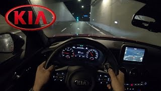 Kia Stinger GT 2018 POV NIGHT DRIVE 370HP V6 TWIN TURBO Onboard, YouDrive