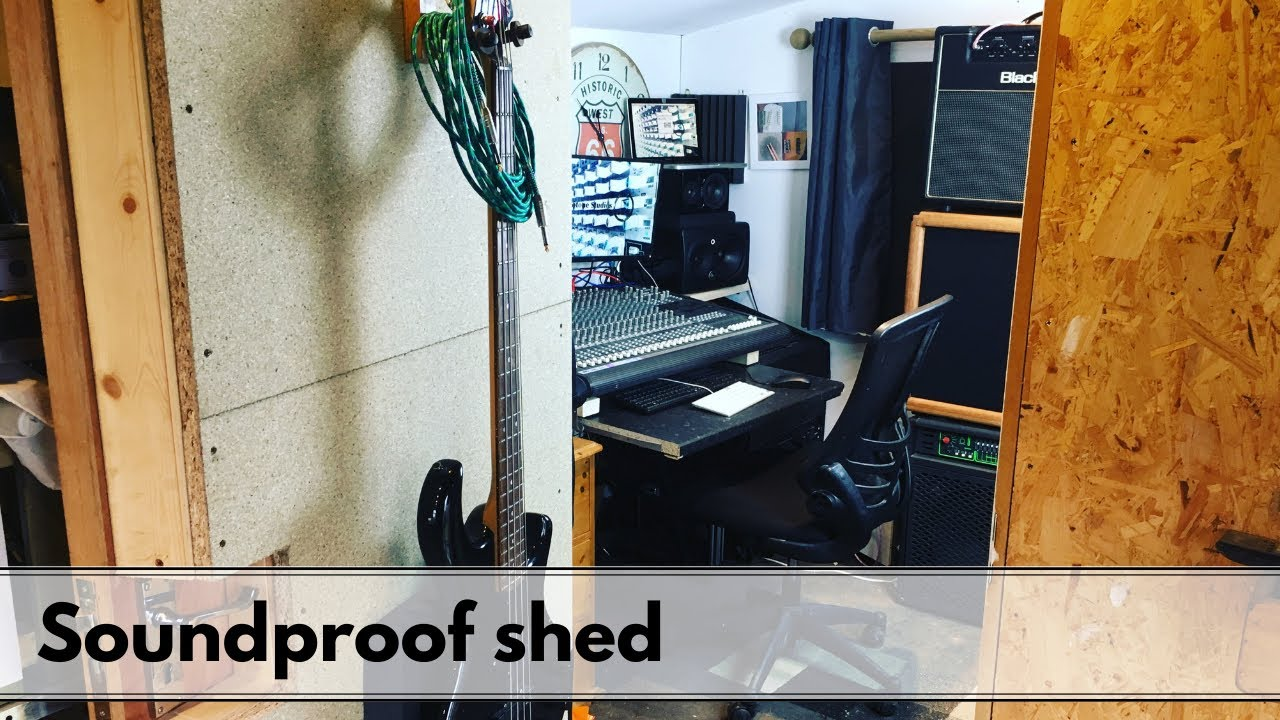 How To Soundproof A Shed