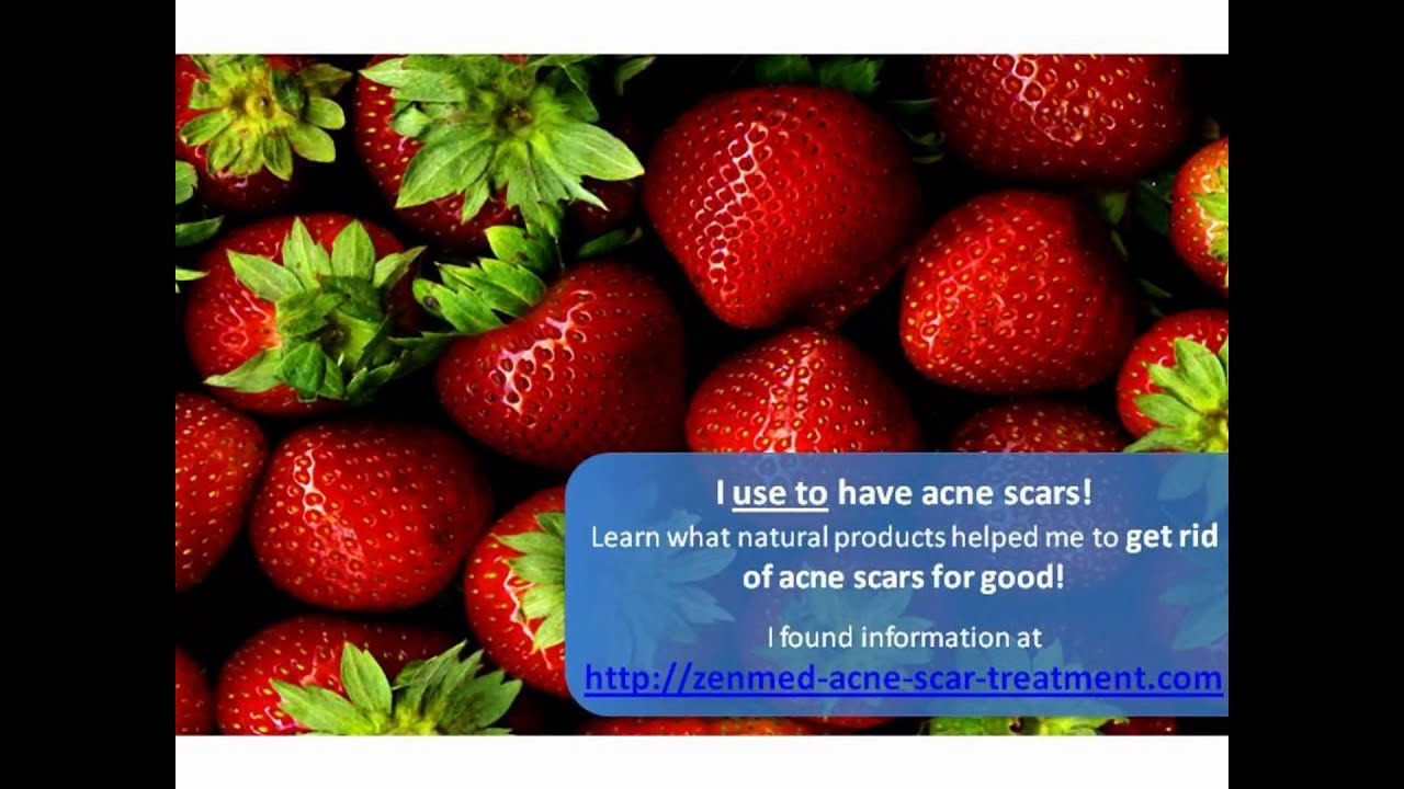 how to get rid of raised acne scars naturally