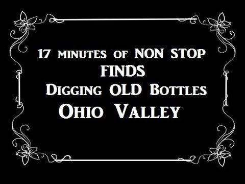 Ohio Valley Treasure Hunting 17 Minutes of NON Stop Finds Archaeology Antiques Roadshow