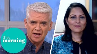 Phillip & Holly Confront Priti Patel About Confusing Covid Rules   This Morning