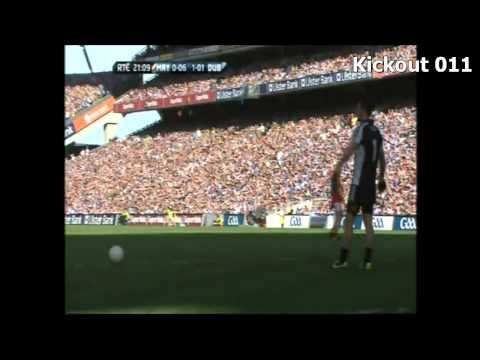 Video Analysis of Dublin kickouts - A master class by Stephen Cluxton [2013 All Ireland SFC Final]