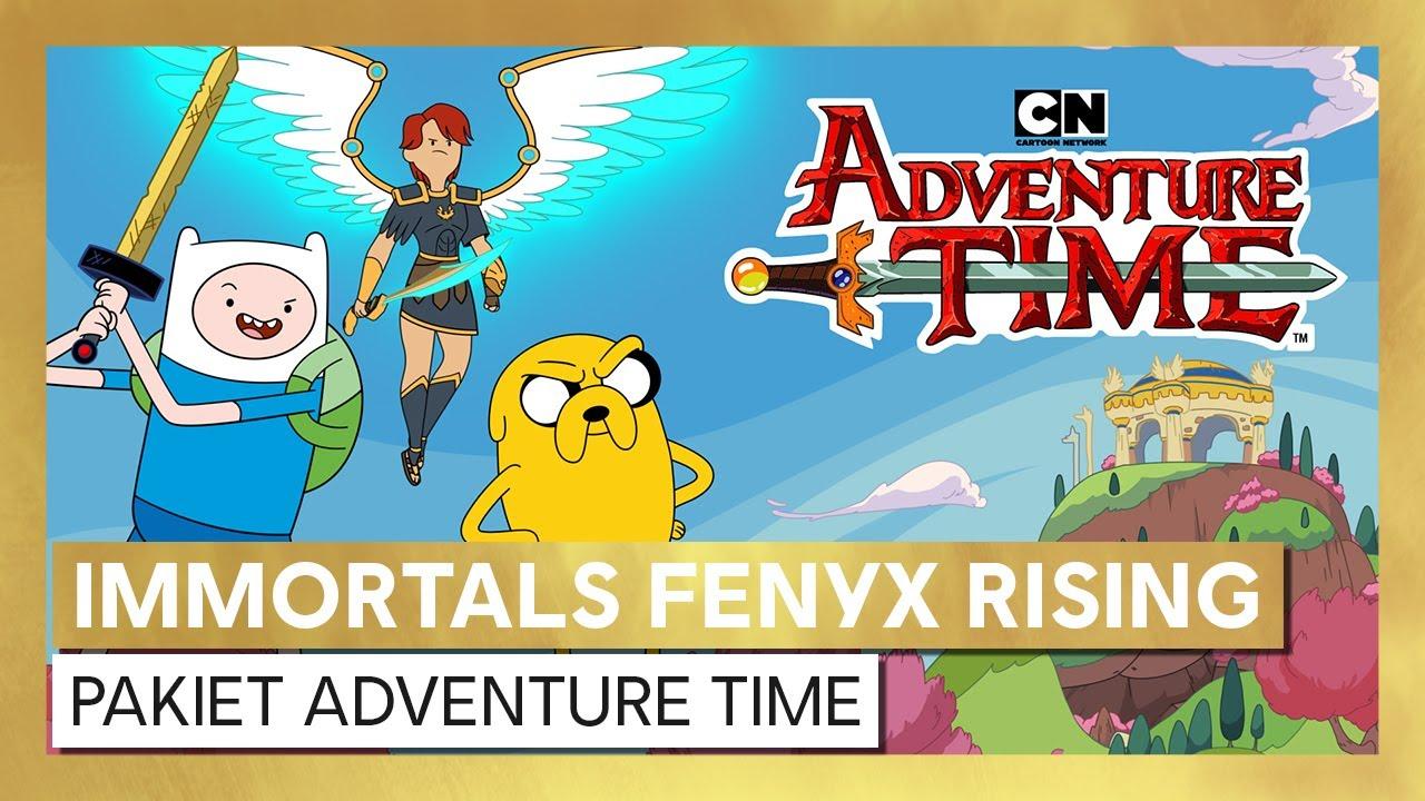 Immortals Fenyx Rising - pakiet personalizacji Adventure Time