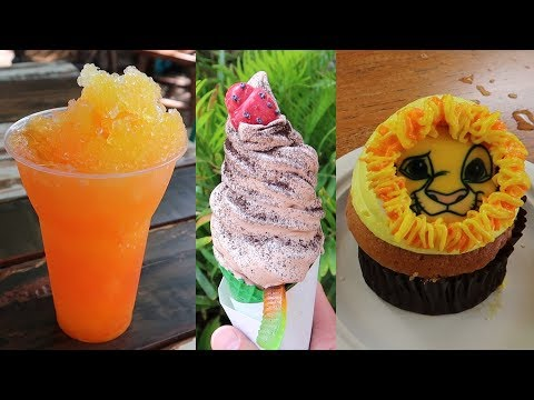 Trying 6 New Lion King Treats At Disney&39;s Animal Kingdom  Taste Test & Food Review