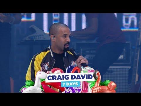 Craig David - '7 Days' (live at Capital's Summertime Ball 2018)