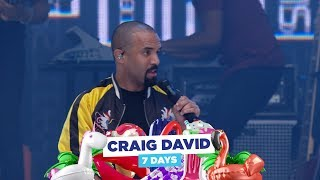 Craig David - '7 Days' (live at Capital's Summertime Ball 2018)