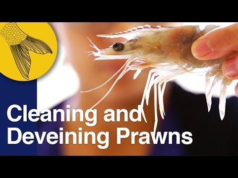 How to Clean and Devein Prawns