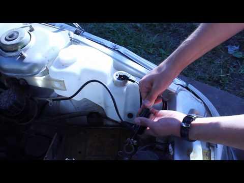 Как поменять моторчик омывателя