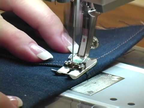 11 bernina presser feet jeans foot 8 youtube. Black Bedroom Furniture Sets. Home Design Ideas