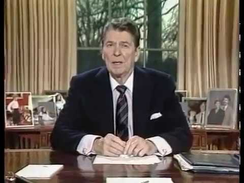 President Ronald Reagan's Speech on the Challenger Space Shuttle Disaster (January 28,1986)