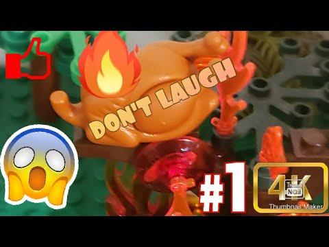 The Little Birdie  Hilarious Lego Brickfilm  Super Novatron Films Don't Laugh