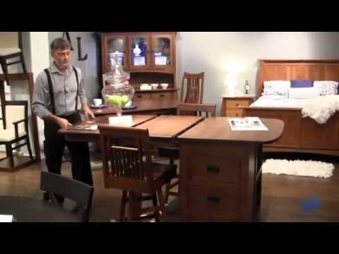 Amish Furniture Details At Oak Furniture Warehouse In Portland Oregon    YouTube