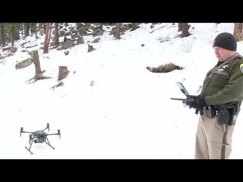 Drones help capture wanted man in Montana