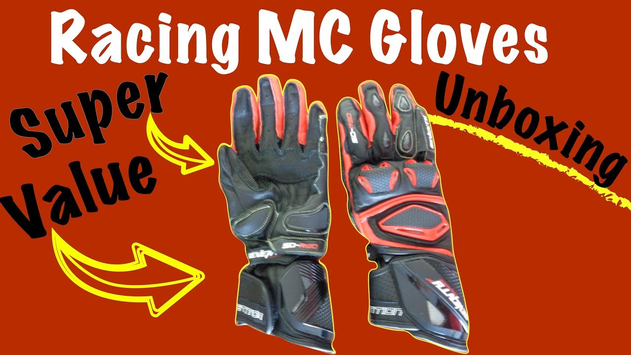 Seventy Degrees SD-R30 Motorcycle Gloves Unboxing  Affordable Racing Gear 52000618b0f2