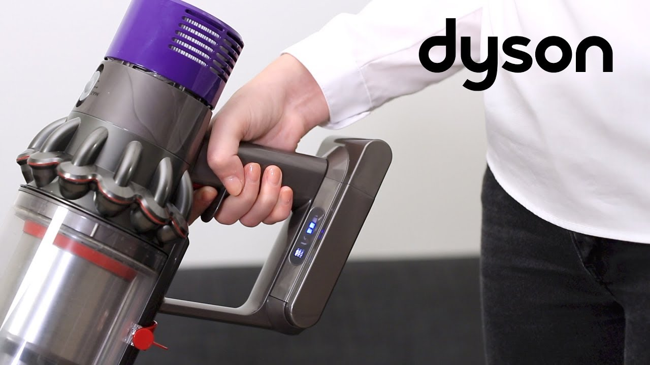 Dyson Cyclone V10 cord-free vacuums - How to resolve a flashing filter light