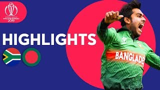 Download Tigers Win In Thriller! | South Africa vs Bangladesh - Match Highlights | ICC Cricket World Cup 2019 Mp3 and Videos