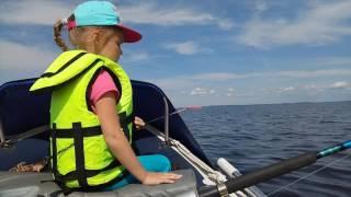 Сямозеро. Уроки рыбалки от малька-шестилетки