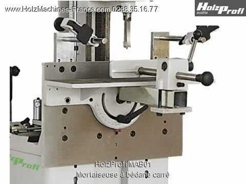 Holzprofi mab01 mortaiseuse b dane carr machine bois youtube - Mortaiseuse a bedane ...