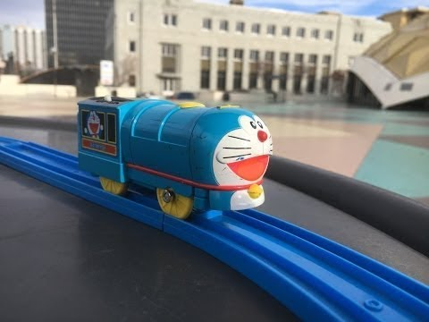 Plarail Doraemon at Washoe County Courthouse & Pioneer Center for the Performing Arts, RENO 02290 pt