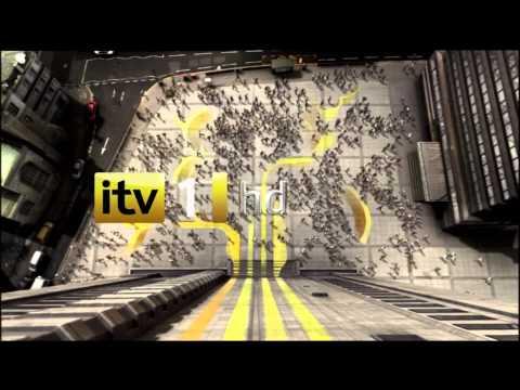 ITV1 HD 'Pavement Art' Ident